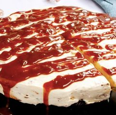 Sticky toffee cheesecake