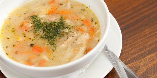 Macam-macam Resep Sup Makaroni Rumahan Yang Mudah Dibuat